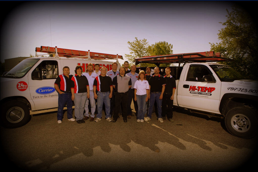 Hi Temp Heating and Cooling Team